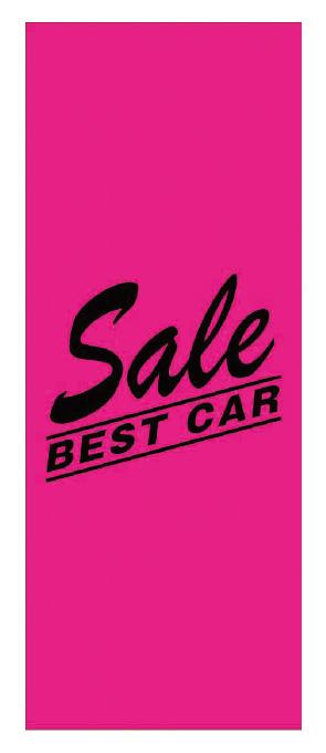 Sale BEST CAR ピンク 特大【KT-14】(特選車,大)