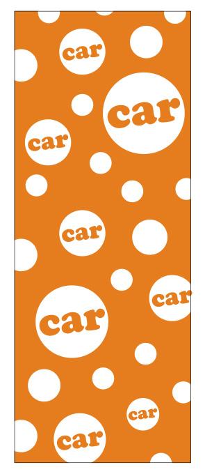 水玉car オレンジ【M-50】